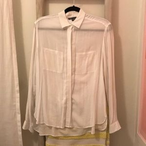Vince. White oversized Button down size S